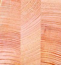 Деревянный трехслойный клееный брус