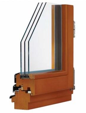 Деревянные окна Modern Wood Line